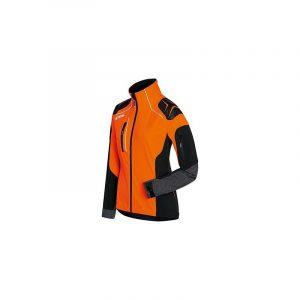 Metsatööjakk Advance X-SHELL oranz/must NAISTELE