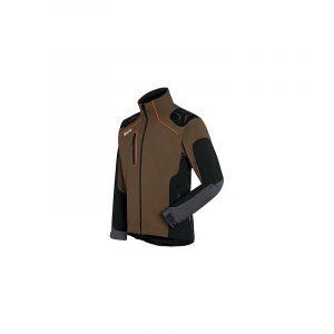 Metsatööjakk Advance X-SHELL pruun/must