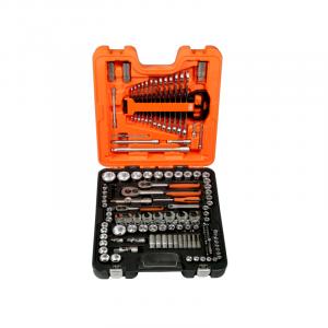Padrunite ja lehtvõtmete komplekt 138 osa 1/2″ 3/8″ 1/4″ Bahco S138