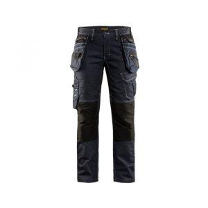 Naiste X1900 ripptaskutega stretchpüksid