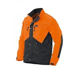 Metsatööjakk DYNAMIC oranz/must