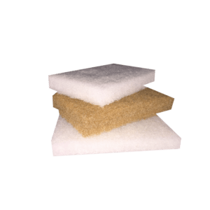 Scrubby set padi valge